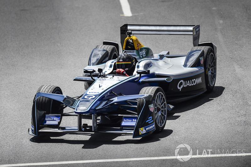 Patrick Carpentier im Formel-E-Auto