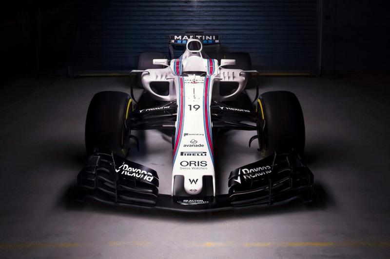 Presentazione Williams FW40
