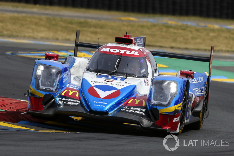 LMP2: #31 Vaillante Rebellion Racing, Oreca 07 Gibson