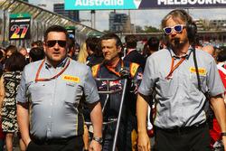 Paul Hembery, Pirelli Motorsport Director on the grid
