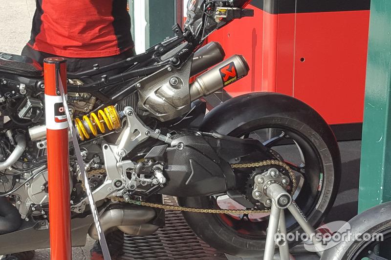 Ducati Panigale 1199 R, chasis actualizado