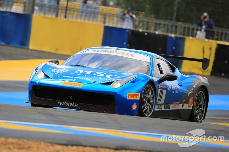 #91 Rossocorsa Ferrari 458 Challenge Evo: Philipp Baron