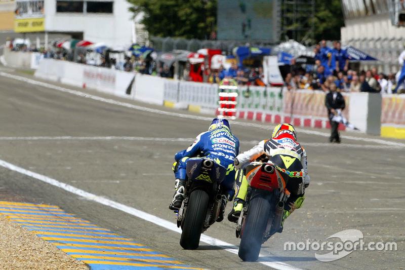 Valentino Rossi, Repsol Honda Team, Sete Gibernau, Telefónica Movistar Honda