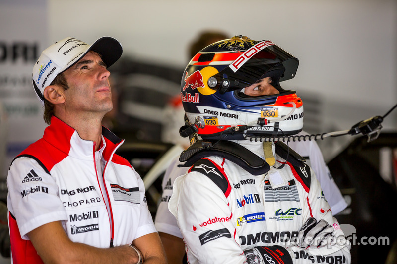 Porsche Team: Romain Dumas, Neel Jani
