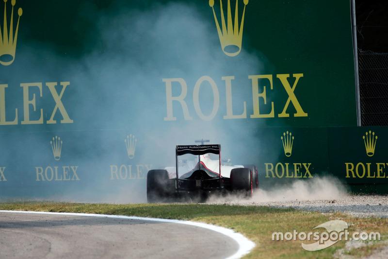 17: Romain Grosjean, Haas F1 Team VF-16 (inclusief gridstraf 5 plaatsen)
