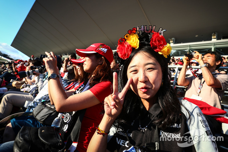 Ein Fan von Nico Hülkenberg, Sahara Force India F1