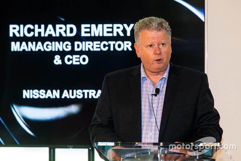 Richard Emery, Geschäftsführer von Nissan Australien