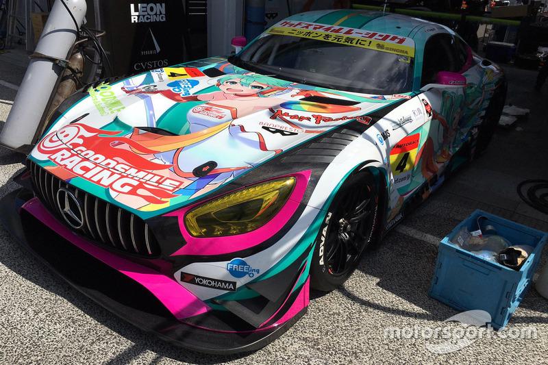 #4 Goodsmile Racing & Team Ukyo, Mercedes SLS AMG GT3