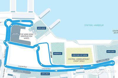 Hong Kong track layout