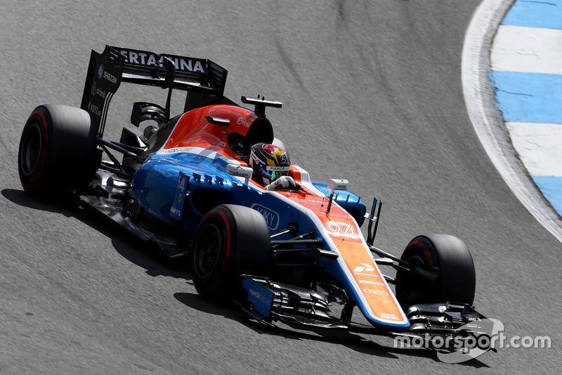17: Pascal Wehrlein, Manor Racing
