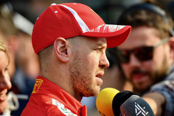 Sebastian Vettel, Ferrari in gesprek met de media