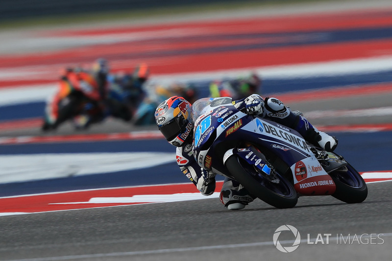 Moto3 Amerika: Kualifikasi 1, finis 1