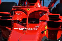 Halo de la Ferrari SF71H