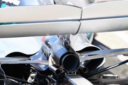 Echappement de la Mercedes-AMG F1 W09
