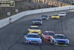 Jimmie Johnson, Hendrick Motorsports Chevrolet, Aric Almirola, Richard Petty Motorsports Ford, Ryan Newman, Richard Childress Racing Chevrolet