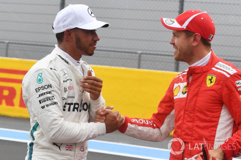 Льюіс Хемілтон, Mercedes-AMG F1, Себастьян Феттель, Ferrari