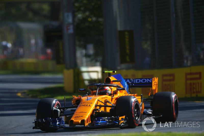 11. Stoffel Vandoorne, McLaren MCL33