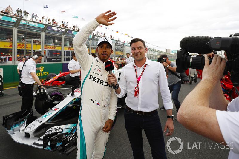 1. GP Australia - Pole: Lewis Hamilton