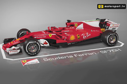 Animations 3D Motorsport.tv : les évolutions Ferrari