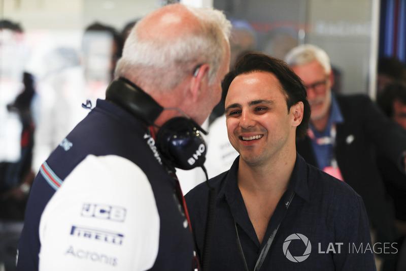 Felipe Massa mengunjungi eks timnya, Williams