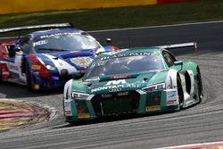 #29 Montaplast by Land-Motorsport Audi R8 LMS: Kelvin van der Linde, Sheldon van der Linde, Jeffrey Schmidt