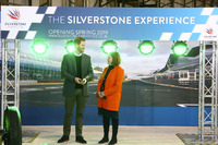 Prince Harry visits Silverstone