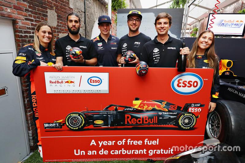 Переможці Red Bull Racing Pit Stop Challenge