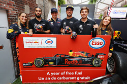 Winners of the Red Bull Racing Pit Stop Challenge
