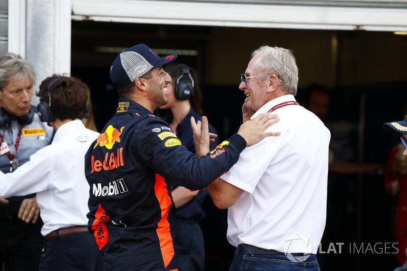 Daniel Ricciardo, Red Bull Racing, Helmut Markko, Consulente, Red Bull Racing