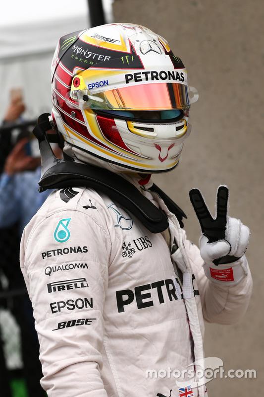 Pole für Lewis Hamilton, Mercedes Petronas AMG F1