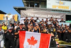 Володар поула Джеймс Хінчкліфф, Schmidt Peterson Motorsports Honda