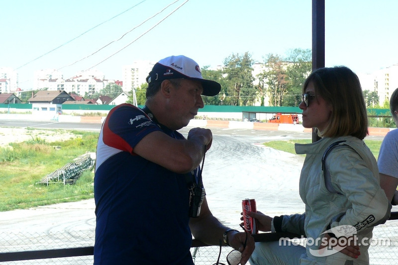 Леонід Протасов та Вікторія Зосим