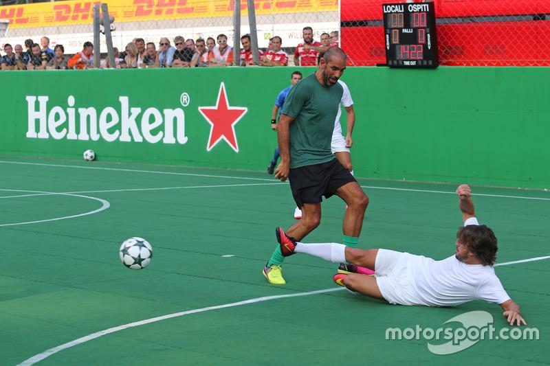 Heineken partita di calcio di beneficenza, Fernando Alonso, McLaren Honda