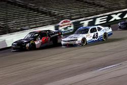 Jeremy Clements, Chevrolet und Brennan Poole, Chip Ganassi Racing, Chevrolet