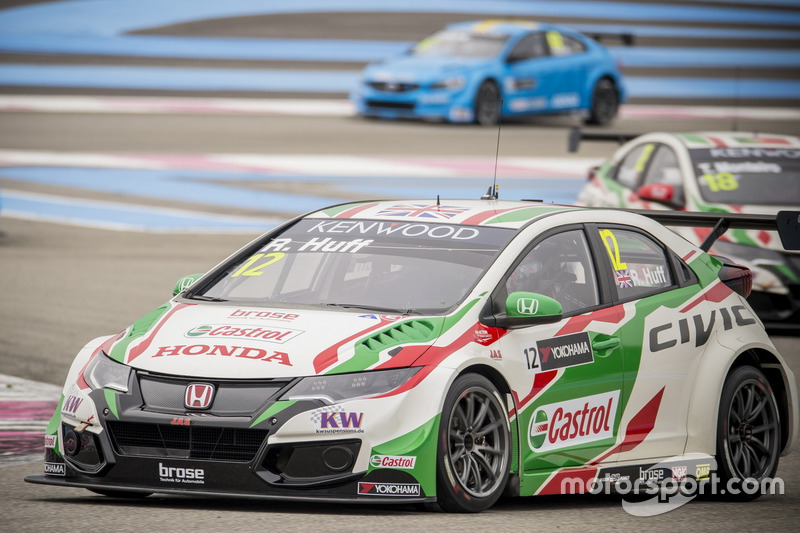 Rob Huff, Honda Racing Team JAS, Honda Civic WTCC