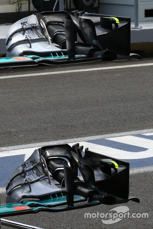 Деталь Mercedes AMG F1 W07 Hybrid