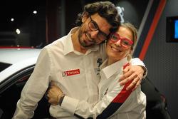 Anna Andreussi, Eugenio Franzetti Peugeot Sport Italia