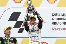 Podium: 1. Francesco Bagnaia, Aspar Team Mahindra Moto3