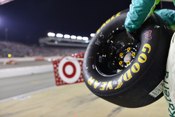 Goodyear tire ready for a pitstop