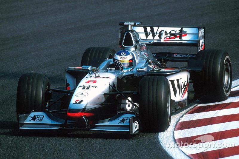 McLaren-Pilot Häkkinen ist nach 7 Saisonsiegen Tabellenführer, doch ...