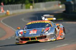 #61 Clearwater Racing Ferrari 488 GTE: Венсун Мок, Кейта Сава, Метт Гріффін