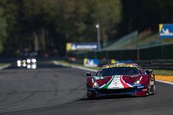 #51 AF Corse Ferrari 488 GTE EVO: Алессандро П'єр Гуіді, Джеймс Каладо