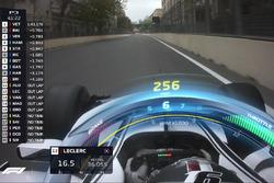 F1 Halo TV graphic, Sauber (Screenshot)