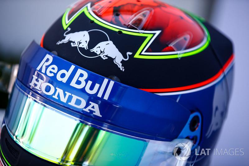 Brendon Hartley'in kaskı, Toro Rosso
