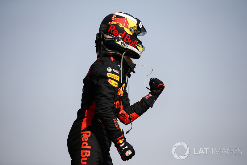 Race winner Daniel Ricciardo, Red Bull Racing