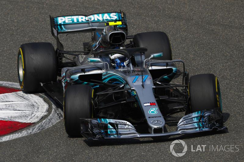 2 місце — Валттері Боттас, Mercedes — 307