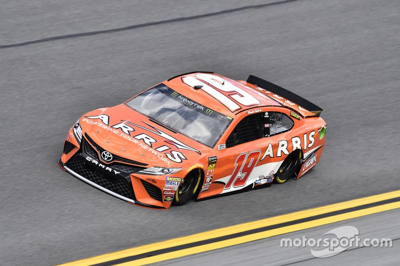 #19: Daniel Suarez, Joe Gibbs Racing, Toyota Camry