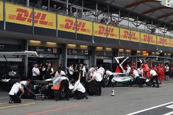 Льюис Хэмилтон и Валттери Боттас, Mercedes AMG F1 W09