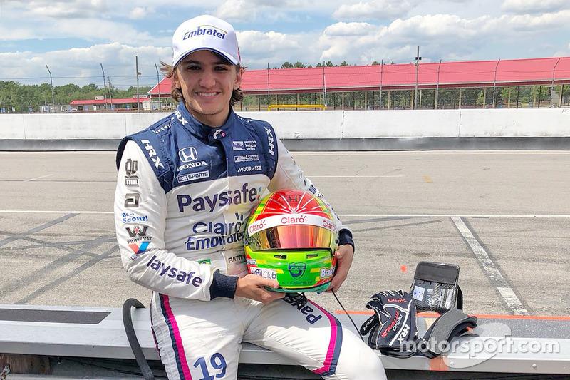 Pietro Fittipaldi pada tes IndyCar pertamanya setelah cedera