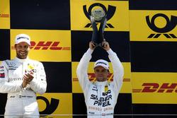 Podio: el tercer clasificado Lucas Auer, Mercedes-AMG Team HWA
